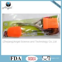 Pincel de cozimento de cozinha de silicone e espátula com PS Handle Sb10