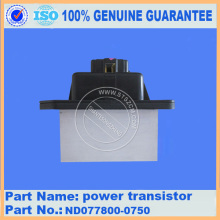 PC220-8 PC300-8 pc350-8 pc400-8 pc450-8 power transistor ND077800-0750