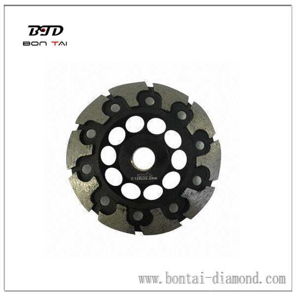 T segment diamond cup wheel