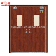 60 min Fire rated steel door Hollow Metal Fireproof Entry Doors America