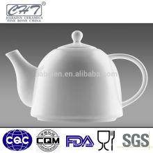 Heißer Verkauf feiner Knochenporzellan-Porzellan-Gaststätte-Tee-Töpfe Großverkauf