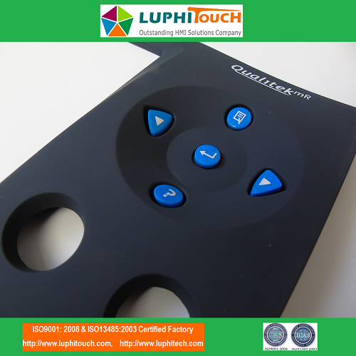 Qualitek mR Multi-Range Tester Epoxy Silicone Rubber Keypad