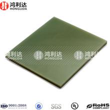 Fibra de resina epoxi fr-4 hojas