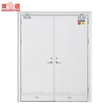 Hollow metal fire rated entry door steel metal fire safe flush door