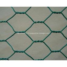 Treillis métallique enduit de PVC
