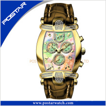 Psd-2326 Angepasste Mode automatische mechanische Damen Armbanduhr mit Schweizer Qualität