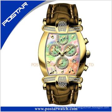 Psd-2326 adapté aux besoins du client de mode mécanique automatique dames montre-bracelet avec la qualité suisse
