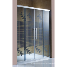 Nova porta de vidro da tela do chuveiro