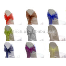 wedding chair tie backs, vogue crystal organza chair sash tie back,bow tie,knot,wedding chair cover and table cloth