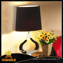 High Quality Modern Lighting Desk with Black Lampshade