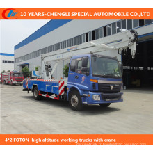 Camions d'opération à haute altitude de 4 * 2 12-15m