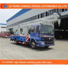 Caminhões de Operação High-Altitude 4 * 2 12-15m
