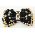 Women`s High Heel Open Toe Fabric Rhinestone Flower 2013
