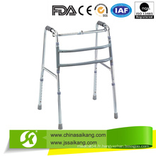 Shinning Silver Aluminium Walkers for Old People