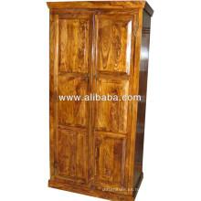 Armario de madera de Sheesham