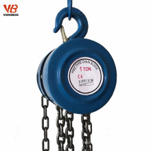 1 ton 2 ton 3 ton manual chain hoist pulley block