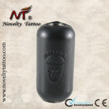 N302003 Tubo negro de tatuaje de silicona