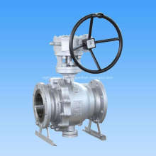 Cast Steel Trunnion Mounted Ball Valve