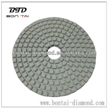 Granite dry white polishing pad 3,4,5 inches