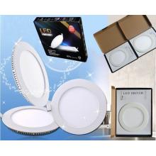 3W / 6W / 9W / 12W / 15W / 18W baratos redonda ultra-delgado LED Panel de luz
