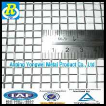 Galvanizado malla de alambre cuadrado 4x4 hecho en china
