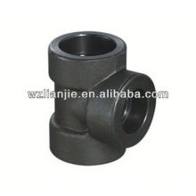 Forged Socket Welding Carbon Steel Equal Tee 2000LB