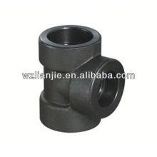 Soquete forjado carbono Tee igual aço 2000 LB de soldagem