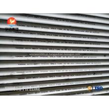 ASTM B677 NO8904 / 904L, 1.4539, tubo sem emenda de aço inoxidável