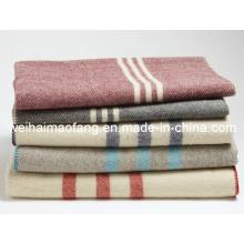Тканые шерстяные 100% армии военный одеяло шерсти (NMQ-WA001)