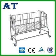 Stainless Steel Hospital Baby Bed/ Bassinet