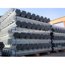 Astm a53 tubo caliente soldado caliente galvanizado