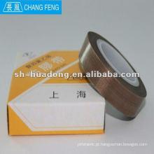 Temperatura alta Changfeng TEFLON Tape 0,13 mm * 30mm * 5 m