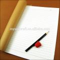 Kundenspezifisches Logo a5 geklebte Bindung recyceltes Notizbuch fördernder Notizblock