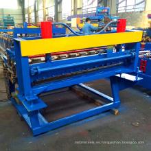 Forma de nivelación de acero de cizalla que forma la máquina