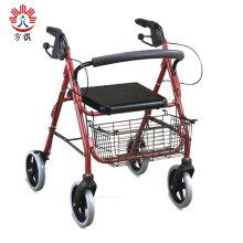 Rollator für Senioren mit Sitzeinkaufswagen