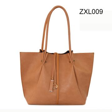 Fashion Promotion Tote Lady Women Leather Sac à main en cuir Zxl009