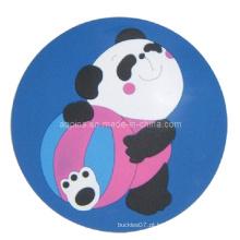 Coaster macio feito sob encomenda do PVC (Coaster-06)