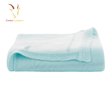 Cashmere Blankt Baby Blankrt Luxe Atacado