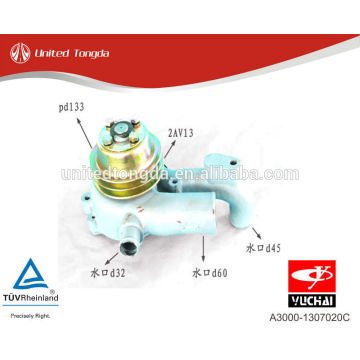 Bomba de agua Yuchai Engine YC6A A3000-1307020C