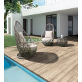 Outdoor Wicker 3-Piece Patio Bistro Set