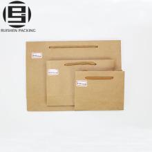 enormes bolsas de papel de regalo de la manija de la cuerda para hombres