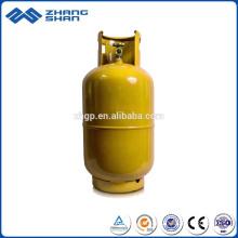 Acampamento de cozinha caseira de gás composto usa um cilindro de GLP de 15 kg para a África