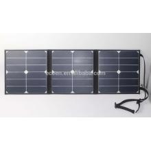 2016 NOVO DESIGN portátil Painel solar dobrável de alta eficiência de 40watt
