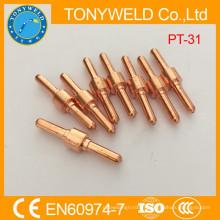 Découpeuses à coupe plasma électrode PT31