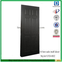 Hot sale modern mdf door