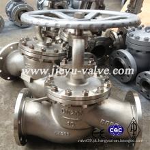 Pn10 Aço Inoxidável CF8 / CF8m / CF3m / 304/316 / 316L Globe Valve