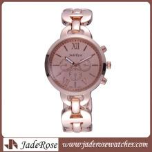 Relógio de pulso moda chesp relógio presente relógio liga de mulheres