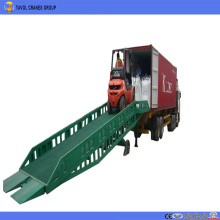 10 ton Mobile Hydraulic Yard Ramps for Truck