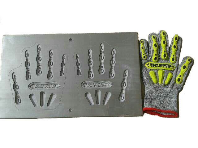 Kpu Glove Upper / Cover Hot Membentuk Mesin