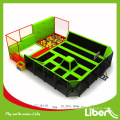 China builders Indoor Trampoline with Foam Pit for Kids and teenager